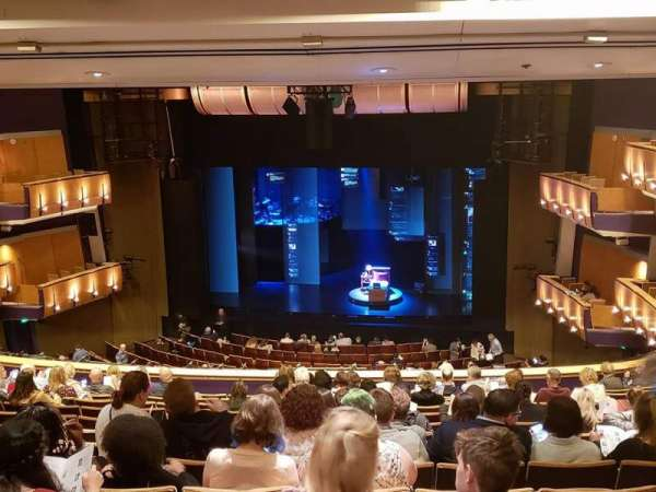 Ahmanson Theatre, section: Mezz, row: N, seat: 4