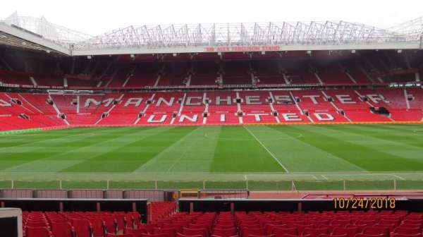 Old Trafford, section: STH124