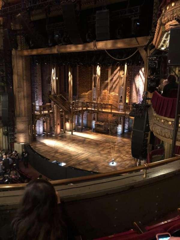 CIBC Theatre, section: Mezzanine R, row: C, seat: 16