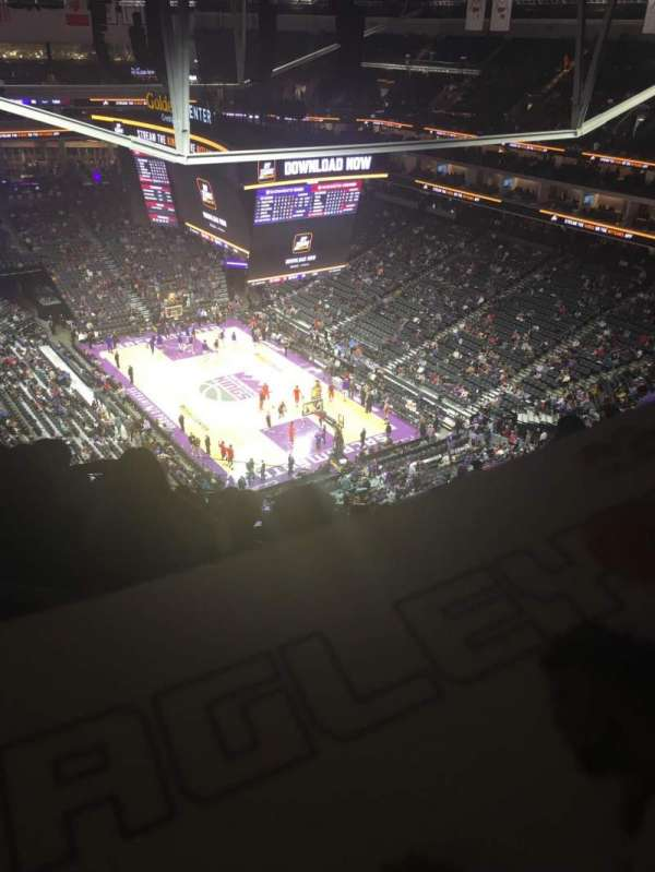 Golden 1 Center, section: 214, row: R, seat: 5