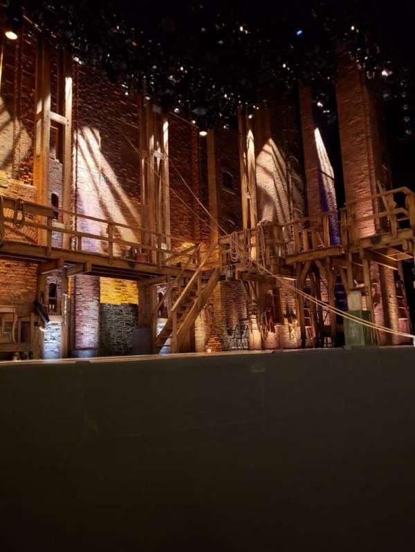 CIBC Theatre, section: Orchestra L, row: B, seat: 5