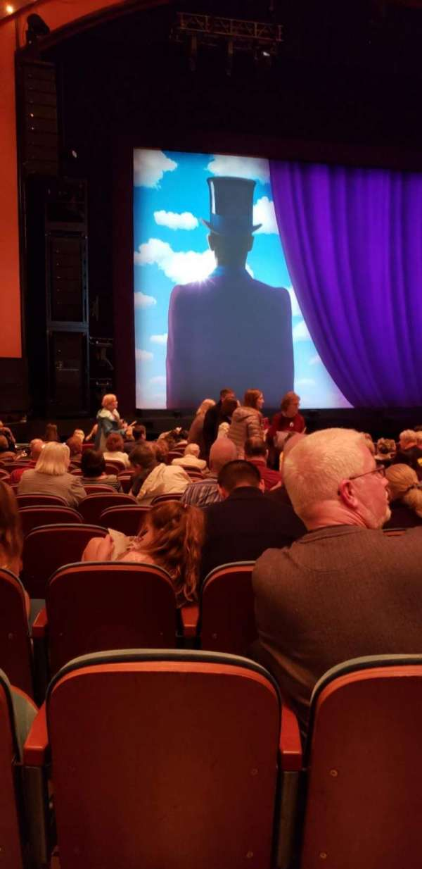 Procter And Gamble Hall at the Aronoff Center, section: Orchestra L, row: M, seat: 102