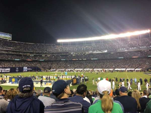 SDCCU Stadium, section: F9, row: 21, seat: 8