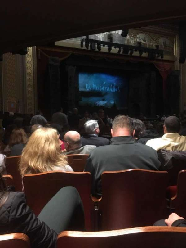Altria Theater, section: Orchestra, row: Y, seat: 505