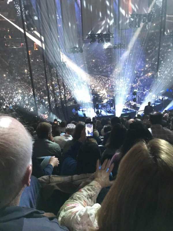 Madison Square Garden, section: 100, row: 20, seat: 9