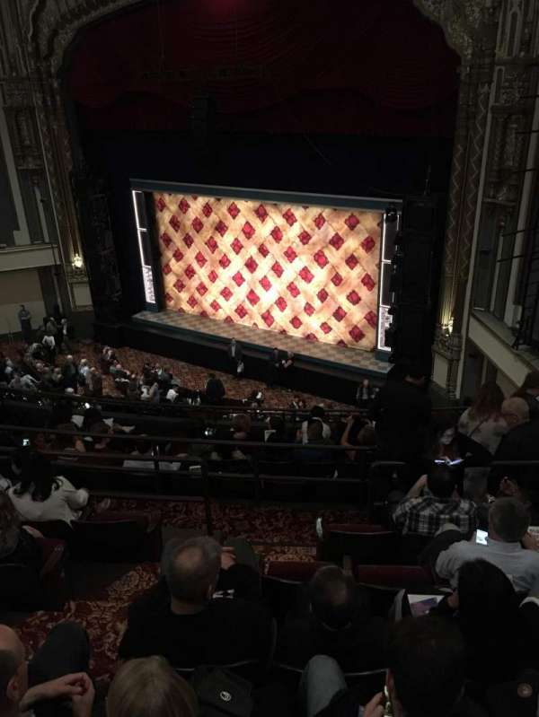Golden Gate Theatre, section: Mezzanine R, row: F, seat: 36