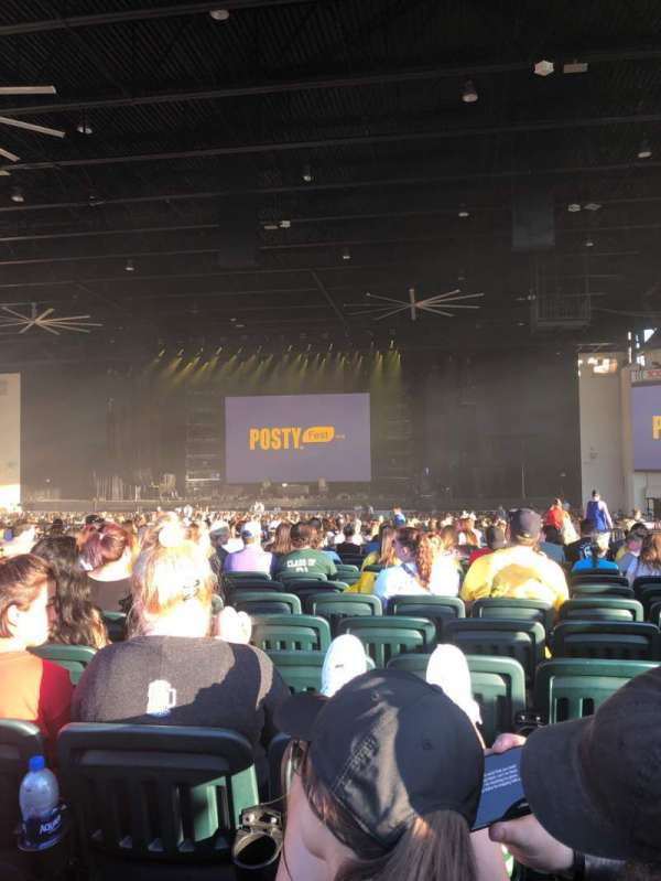 Dos Equis Pavilion, section: 202, row: Z, seat: 21