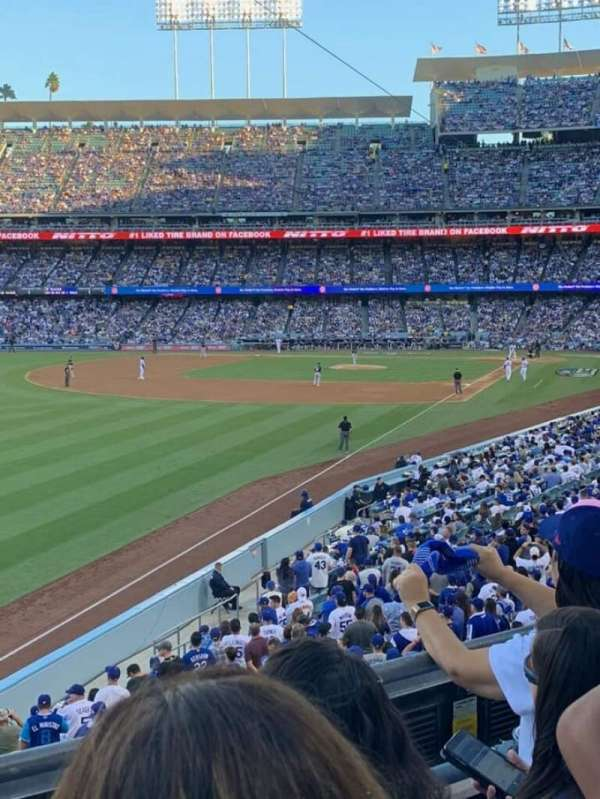 Dodger Stadium, section: 161LG, row: C, seat: 6