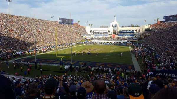 Los Angeles Memorial Coliseum, section: 113, row: 36, seat: 10