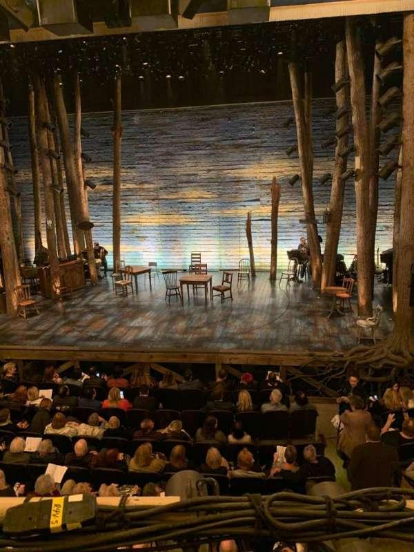 Gerald Schoenfeld Theatre, section: Mezzanine C, row: A, seat: 113