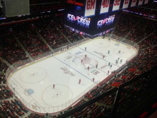 Little Caesars Arena, section: G19, row: 1, seat: 7