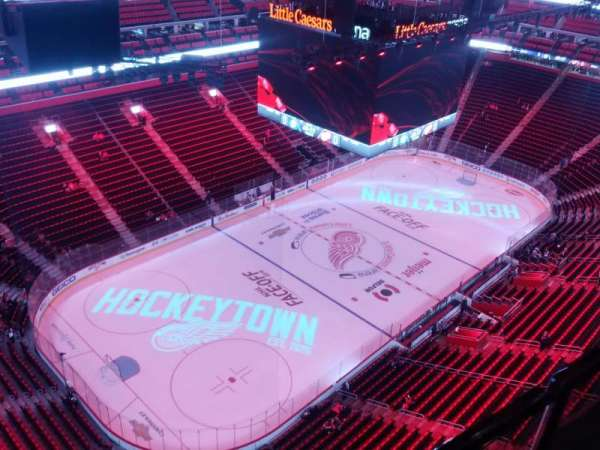 Little Caesars Arena, section: G19, row: 1, seat: 8