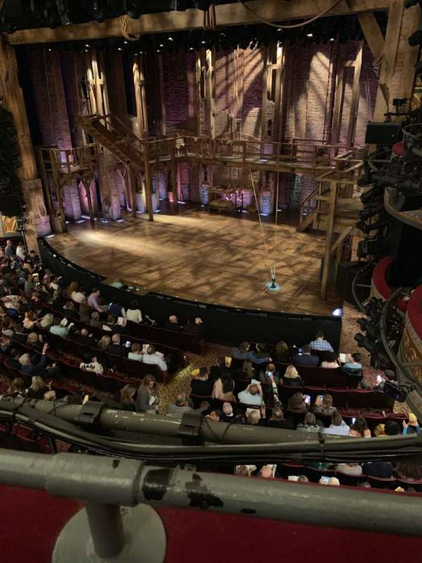 Richard Rodgers Theatre, section: Mezzanine R, row: A, seat: 22