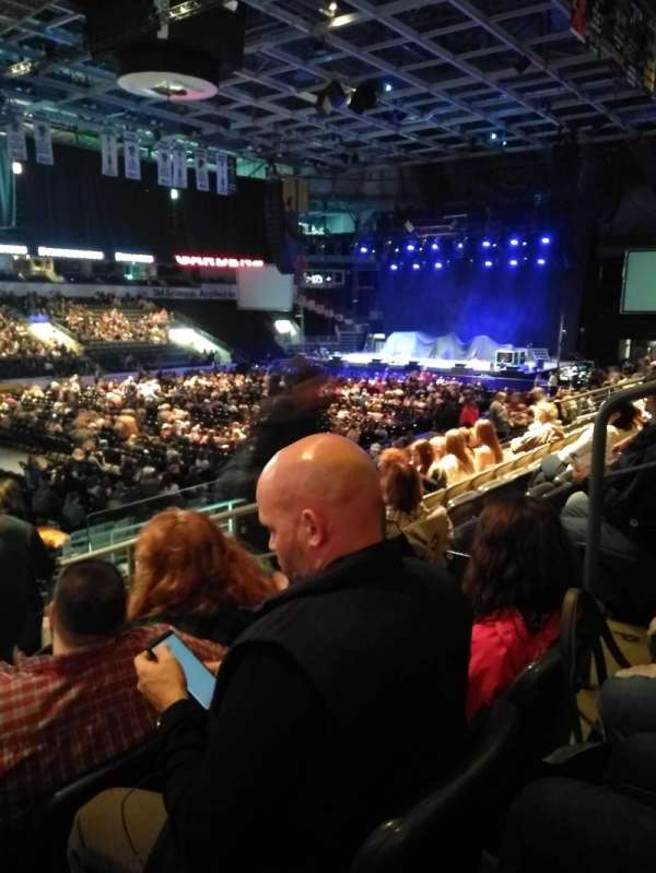 Budweiser Gardens, section: 107, row: Q, seat: 4