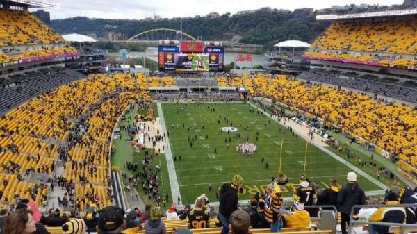 Heinz Field, section: 520, row: Z, seat: 7