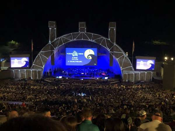 Hollywood Bowl, section: R1, row: 14, seat: 39