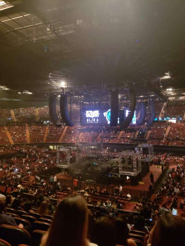 The forum, section: 111, row: 16, seat: 11