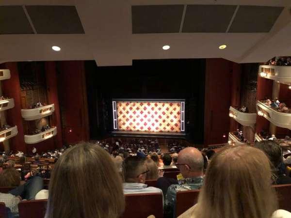 Au-Rene Theatre at the Broward Center, section: Mezzanine RC, row: K, seat: 124