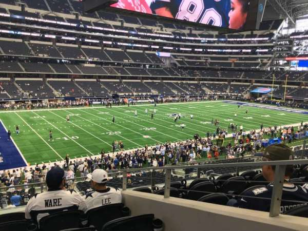 AT&T Stadium, section: 215, row: 6, seat: 2
