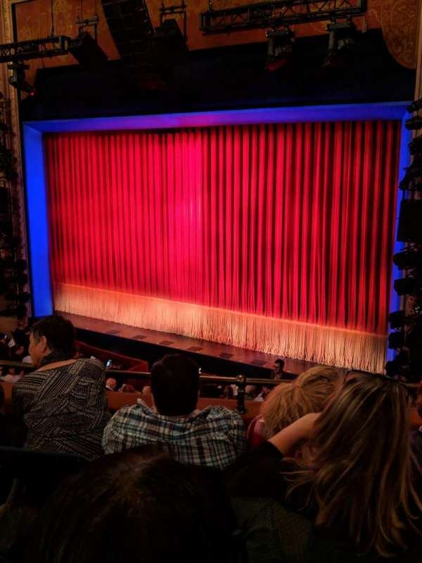 Longacre Theatre, section: Mezzanine R, row: D, seat: 15