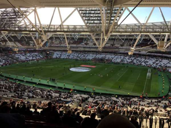 London Stadium , section: 240, row: 70, seat: 314