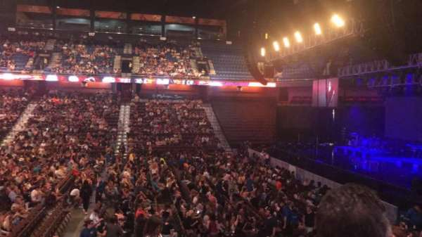 Mohegan Sun Arena, section: 15, row: P, seat: 20