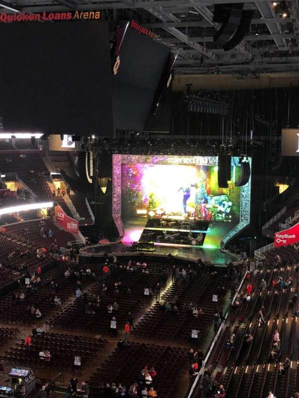 Quicken Loans Arena, section: 202, row: 4, seat: 10,11