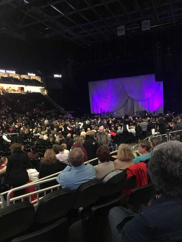 Fiserv Forum, section: 119, row: 3, seat: 10