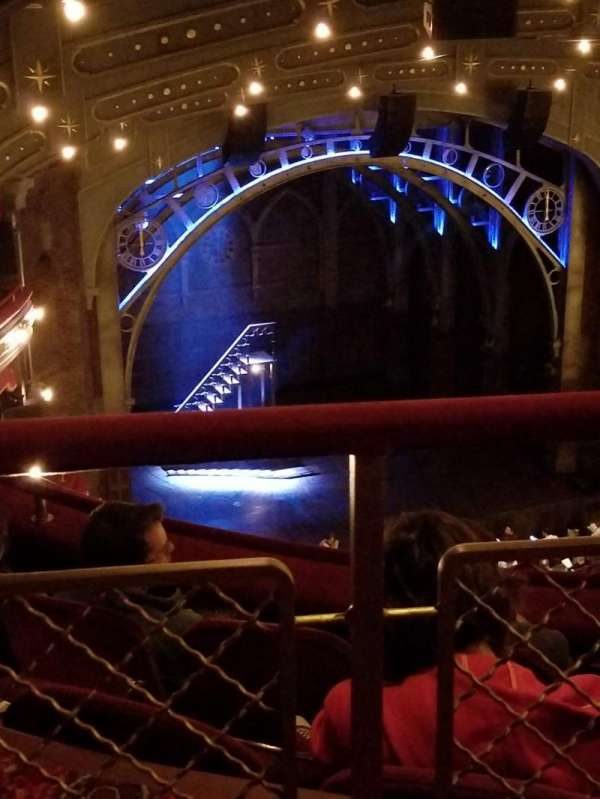 Lyric theatre , section: Balcony, row: C, seat: 16 and 17