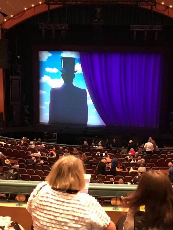 Procter And Gamble Hall at the Aronoff Center, section: Loge C, row: C, seat: 135