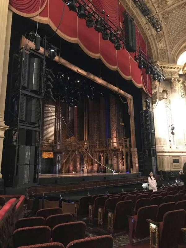 Boston Opera House, section: LORCLV, row: G, seat: 35