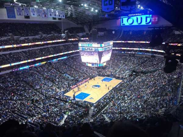 American Airlines Center, section: 315, row: N, seat: 7