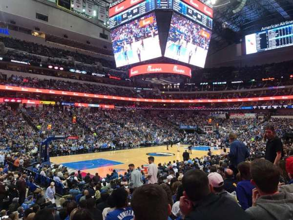 American Airlines Center, section: 121, row: N, seat: 10