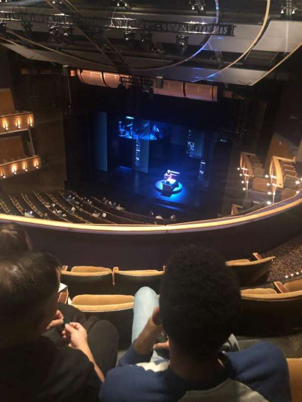 Ahmanson Theatre, section: Balcony, row: D, seat: 6