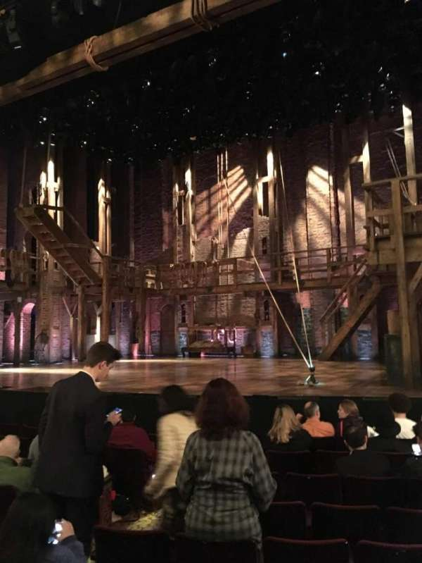 Richard Rodgers Theatre, section: Orchestra R, row: H, seat: 10