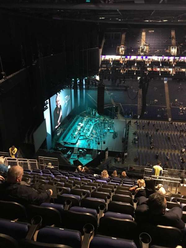 The O2 Arena, section: 402, row: P, seat: 478
