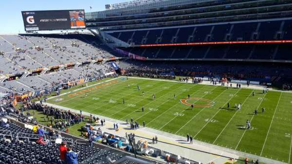 Soldier Field Section 434 Home Of Chicago Bears