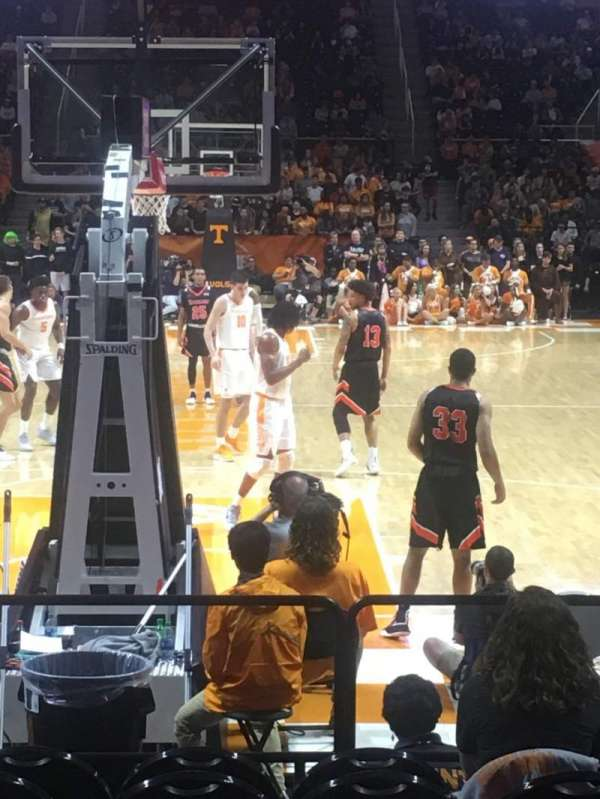 Thompson-Boling Arena, section: 113, row: 7, seat: 15