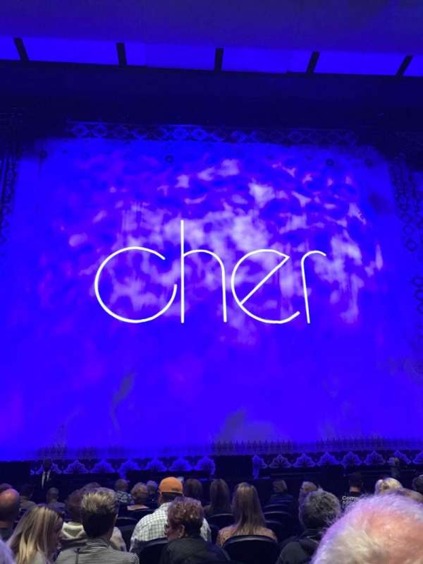 Park Theater at Park MGM, section: 102, row: K, seat: 15