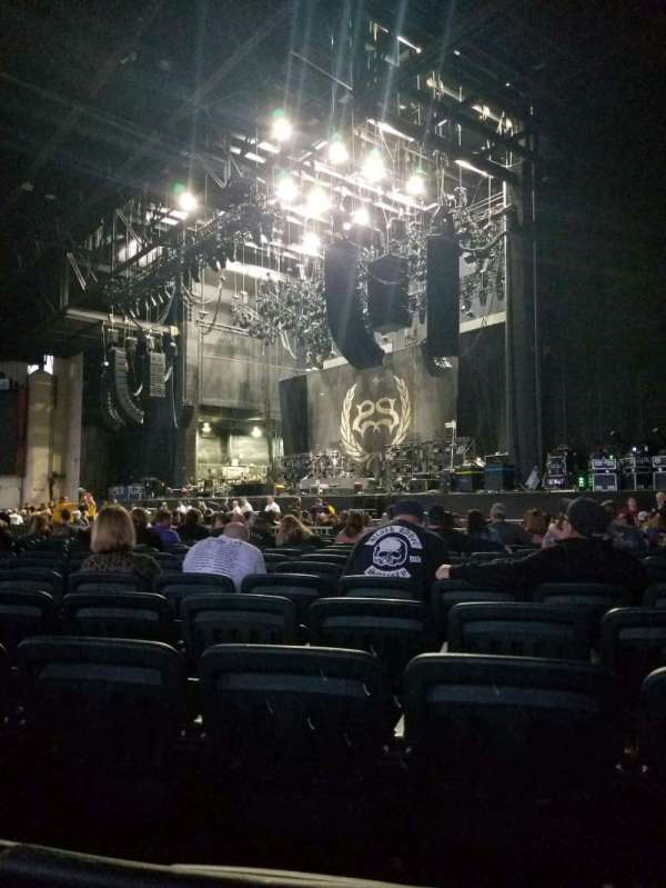 Dos Equis Pavilion, section: 100, row: X, seat: 15-16