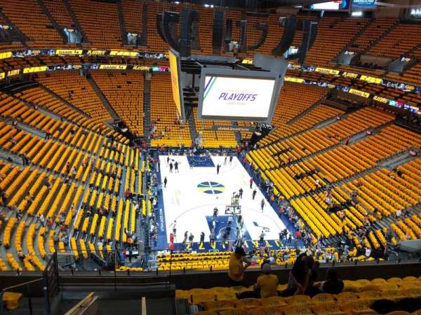 Vivint Smart Home Arena, section: 104, row: 8, seat: 4