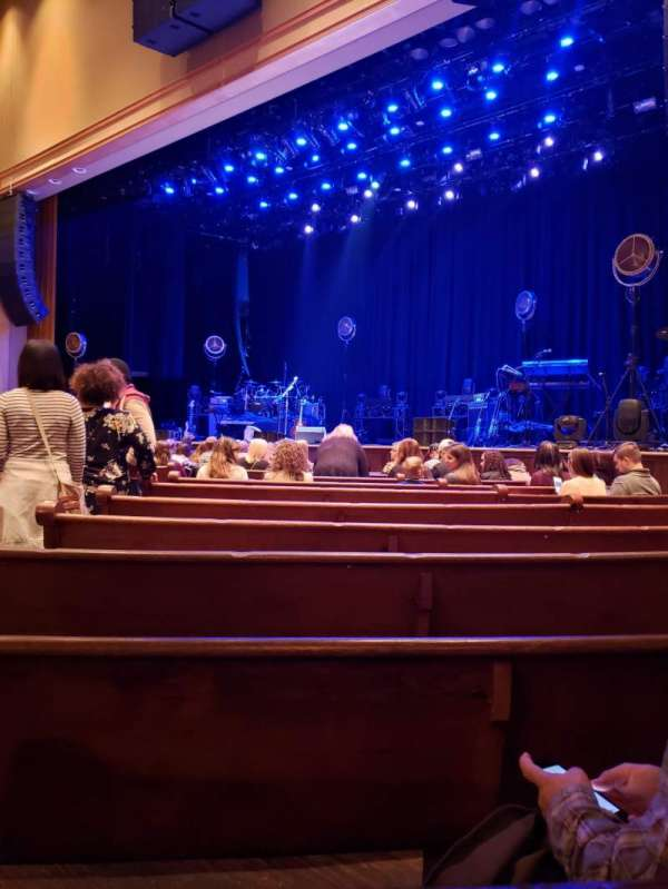Ryman Auditorium, section: MF-2, row: N, seat: 6