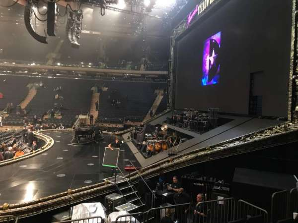 Madison Square Garden, section: 109, row: 8, seat: 14