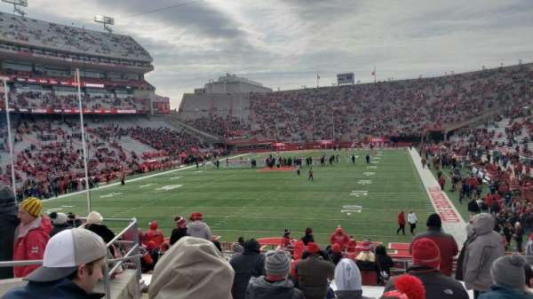 Memorial Stadium (Lincoln), section: 34, row: 25, seat: 25