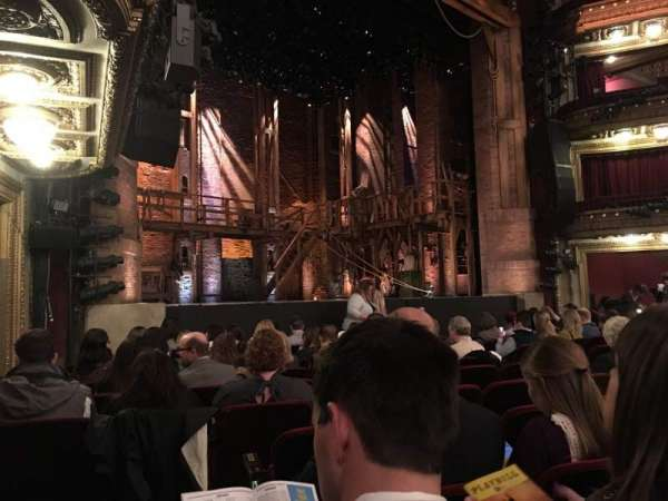 CIBC Theatre, section: Orch, row: L, seat: 21
