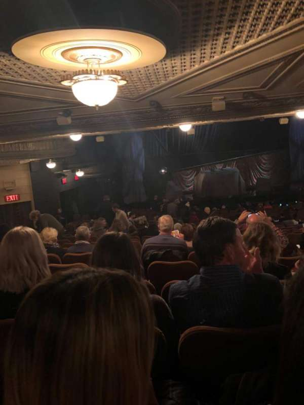 Majestic Theatre, section: Orchestra L, row: W, seat: 7