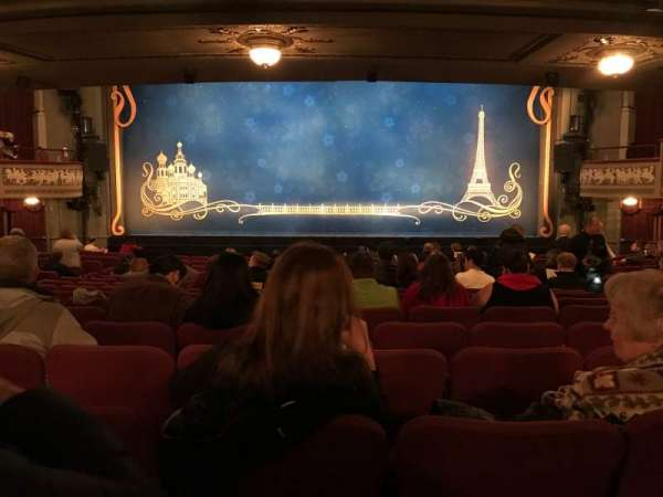 Broadhurst Theatre, section: Center Orchestra, row: R, seat: 108