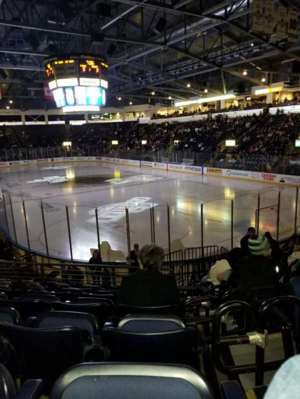 Accesso ShoWare Center, section: 107, row: 13, seat: 6