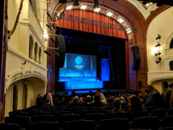 Moore Theatre, section: Main L, row: O, seat: 8