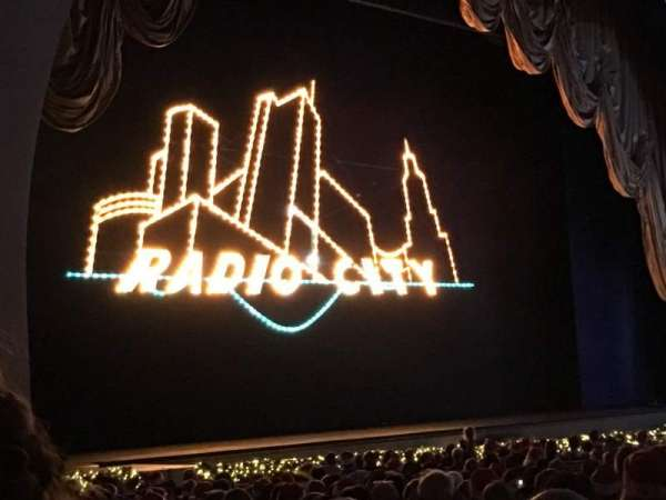 Radio City Music Hall, section: Orchestra 7, row: ZZ, seat: 706